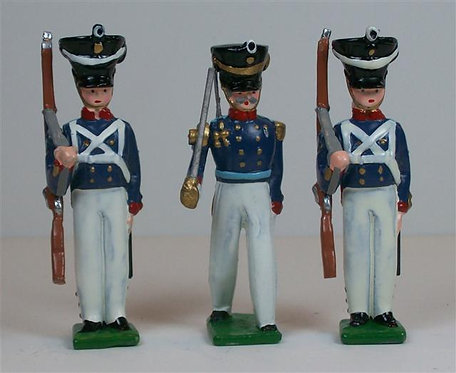 G220.5 - Prussian Infantry, 1830 - 3 pieces