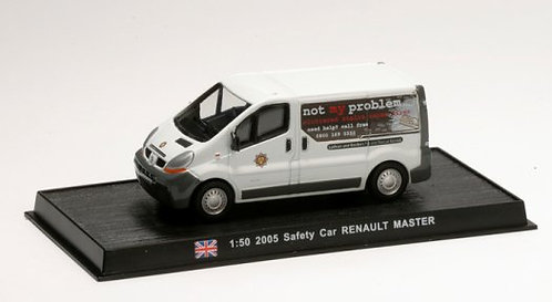 CBO151 - Safety Car Renault Master, England 2005     Scale: 1:50