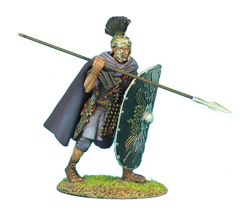 ROM105 - Imperial Roman Praetorian Guard with Spear #4