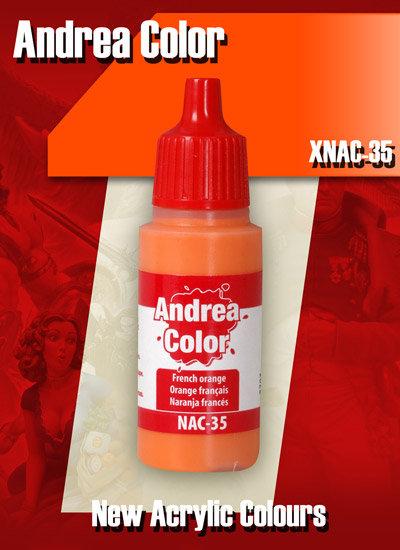 XNAC-35 - French Orange - Andrea Color