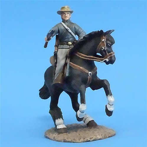 CORD-1016 Confederate Cavalry Trooper with Shotgun- ACW - Frontline - 54mm Metal