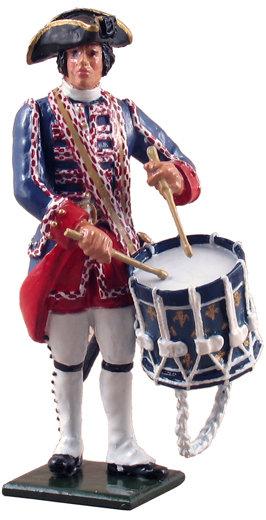 47039 - Compagnies franches de la Marine Drummer, 1754-1760