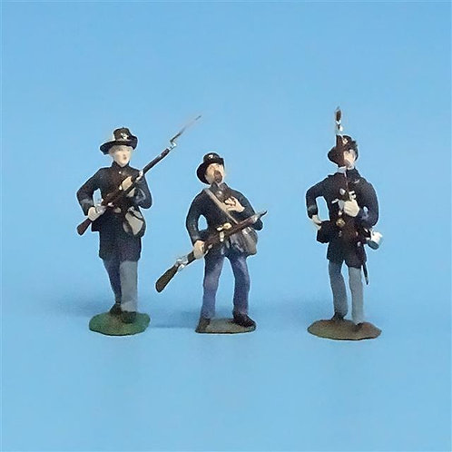 CORD-198 - Iron Brigade (3 Figures) - Manufacturer Unknown - 54mm Metal - No Box