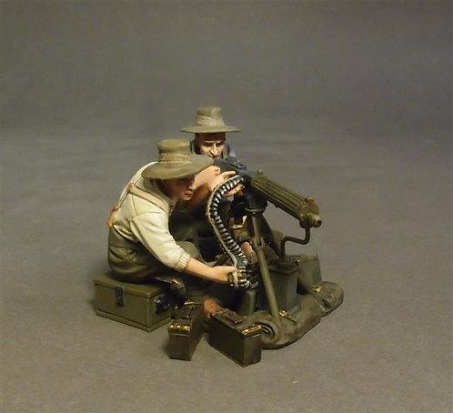 "WAD-23D - Ford Model T ""Billzac"" Crew with Vickers Heavy Machine Gun"