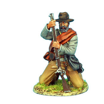 ACW056 - Confederate Infantry Kneeling Loading