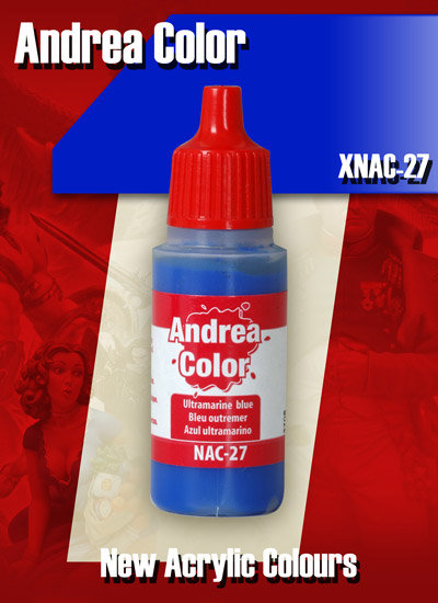 XNAC-27 - Ultramarine Blue - Andrea Color