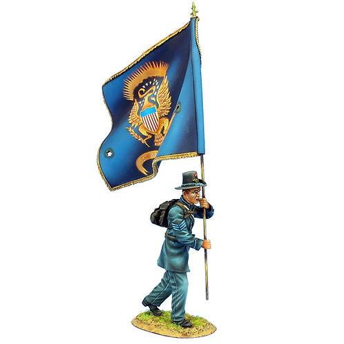 ACW100 - 2nd Wisconsin Sergeant Standard Bearer