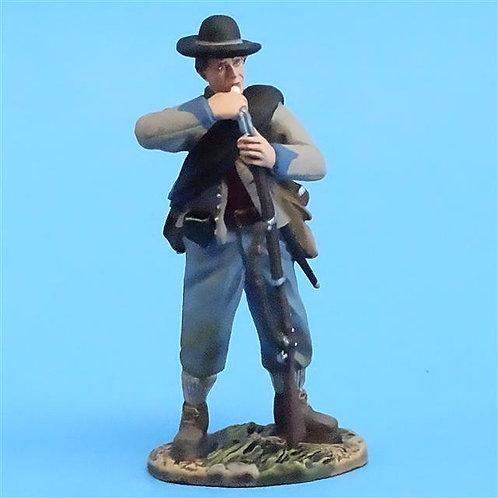 CORD-0698 - Confederate Biting Cartridge - ACW - Britains - 54mm Metal - No Box
