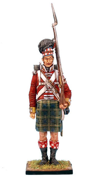 NAP0216 - 92nd Gordon Highlander Standing - Tall/Big