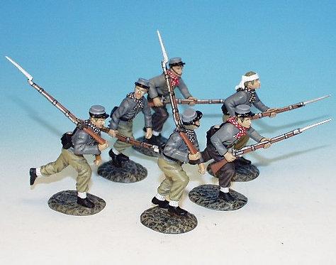 VMI.1 - 6 Cadets, Charging, Virginia Military Institute