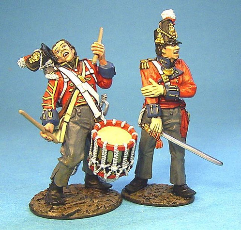 BCH-07 - 1st Royal Scots Wounded Drummer and Officer  (2pcs)