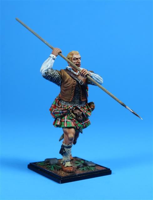 5437 - Scottish Spearman, 17th Century