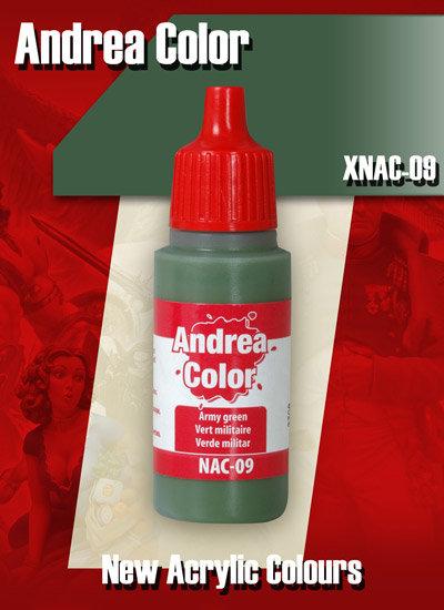 XNAC-09 - Army Green - Andrea Color