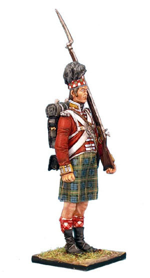 NAP0215 - 92nd Gordon Highlander Standing - Tall/Big