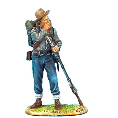 ACW045 - Confederate Infantry Standing Loading