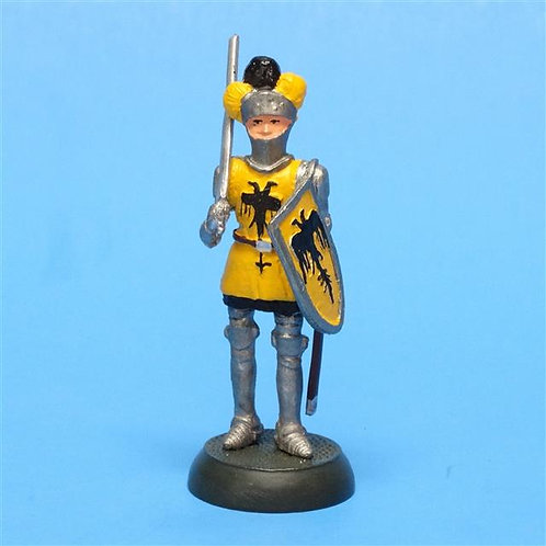 MI-407 - Medieval Knight - Geovirtual - 54mm Metal - No Box