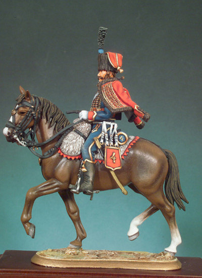 S7-F02 - French 4th Hussar (1814)