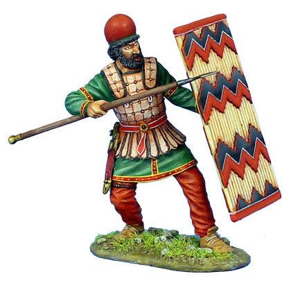 AG048 - Persian Heavy Infantry Shield Bearer #3