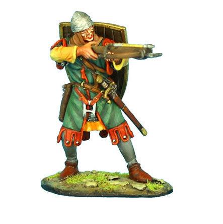 CRU072 - Crusader Crossbowman with Ibelin Shield