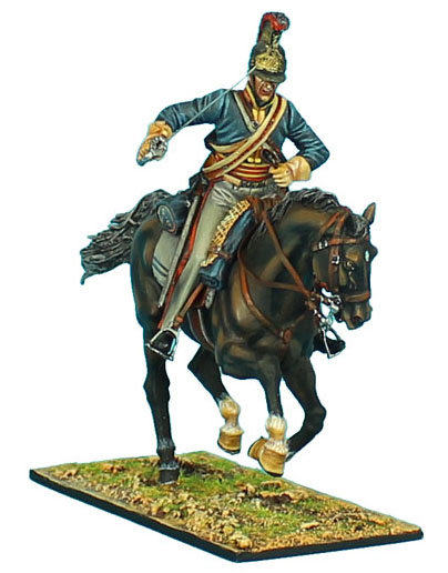 "NAP0398 - British Royal Horse Guards ""The Blues"" Trooper #4"