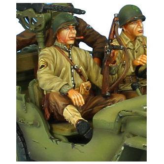 NOR051 - US Infantry Staff Sergeant - Jeep Passenger/Tank Rider