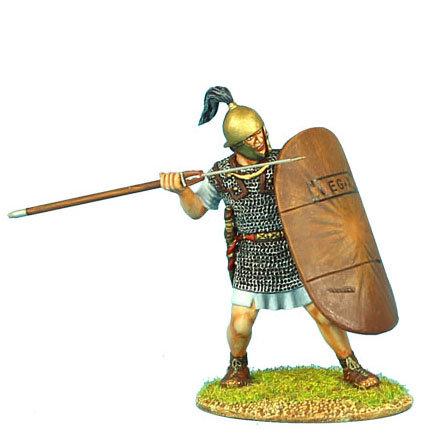 ROM068 - Caesarian Roman Legionary with Pilum and Shield Cover