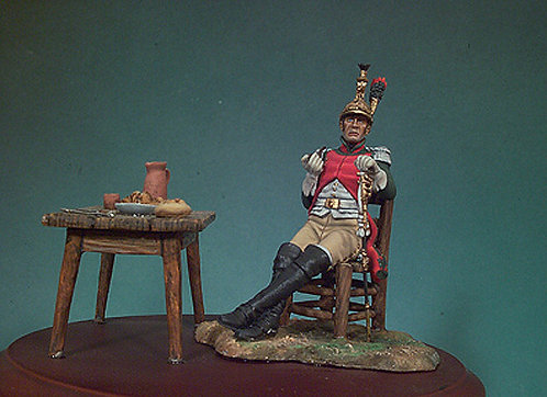 S7-F10 - French Officer (4th Dragoons 1812)