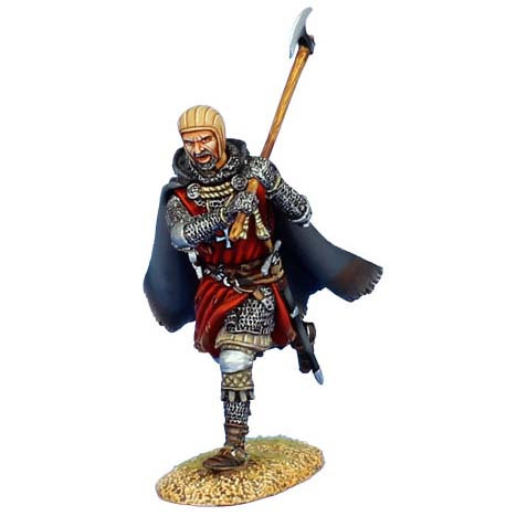 CRU088 - Hospitaller Knight Charging with Axe