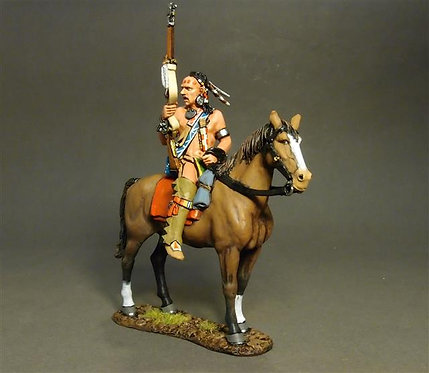 RSF-24B - Woodland Indian on Horse B