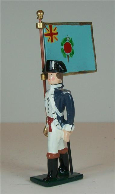 A255FB - New Hampshire Regiment Flag Bearer - 1 piece