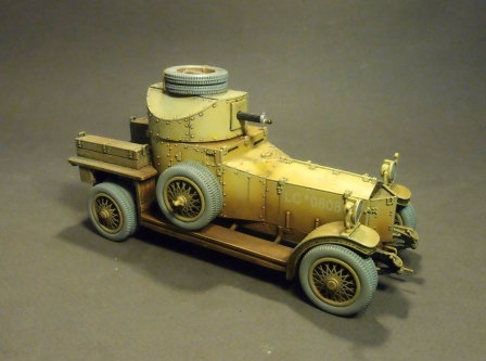 WAD-01 - Rolls Royce Armoured Car