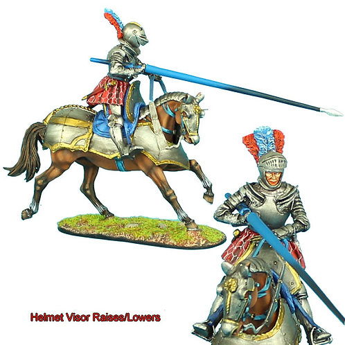 REN033 - French Mounted Knight with Lance #1