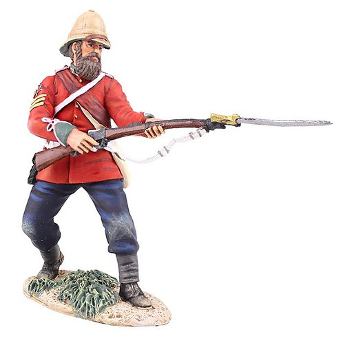 20174 - British 24th Foot Sgt. Bourne No.2, Parrying with Bayonet