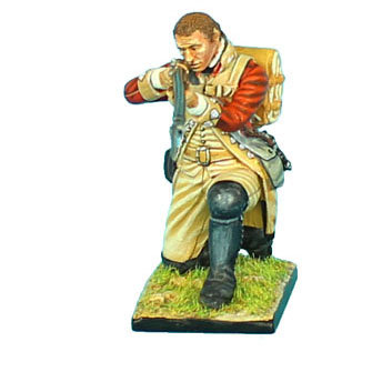 AWI046 - British 22nd Foot Kneeling Firing - Bare Head