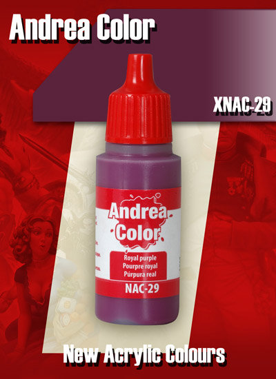 XNAC-29 - Royal Purple - Andrea Color