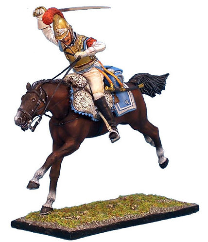 NAP080 - French 2nd Carabiniers Trooper Charging
