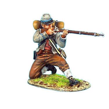 ACW059 - Confederate Infantry Kneeling Firing