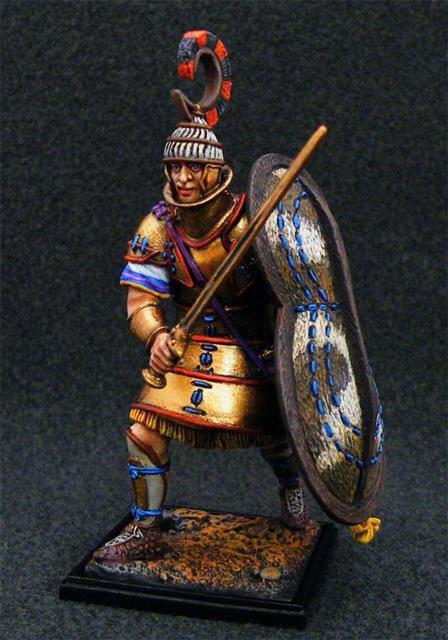 5005 - Mycenaean Warrior in Heavy Armour, 1400 BC