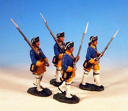 SAS.2 - 2 Marching, 2 Advancing, Halsinge Regiment, Fusilier Company