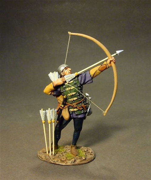 LANC-31 - Lancastrian Archer  The Battle of Bosworth Field 1485