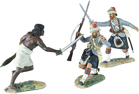 """27012 - """"Not Today"""" - British 42nd Highlander, Mahdist and 42nd Officer"""