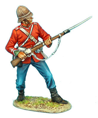 ZUL004 - British 24th Foot Ready with Bayonet