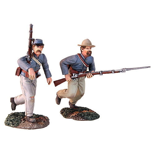 """31149 - At the Double Quick"""" - Confederate Charging Set"""