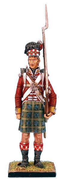 NAP0213 - 92nd Gordon Highlander Standing - Intoxicated