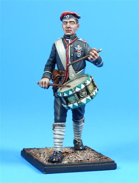 5913 - Russian White Guard Drummer (Winter Dress), 1918-22
