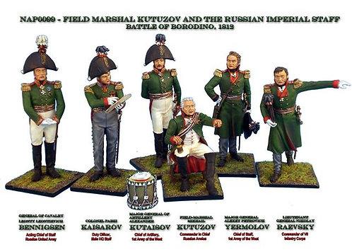NAP099 - Field-Marshal Kutuzov and the Russian Imperial Staff - Borodino 1812