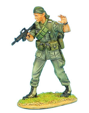 VN001 - US 25th Infantry Division Sergeant with CAR-15