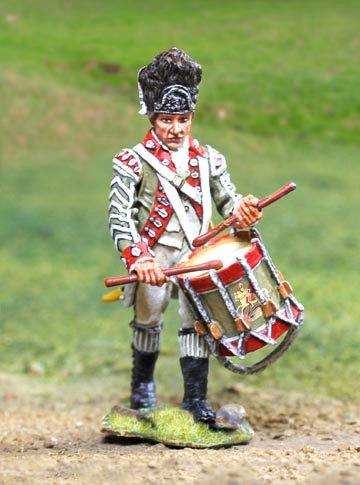 CS00834 - British Revolutionary War Drummer