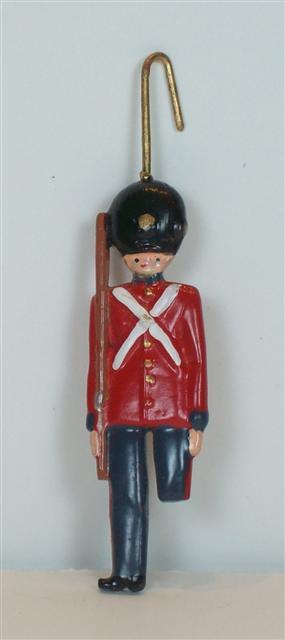 C982 - Steadfast Tin Soldier Ornament - 1 piece