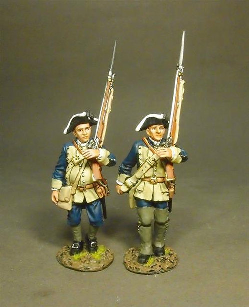 RRBSC-05 - South Carolina Provincial Regiment, 2nd Line Infantry Marching #1
